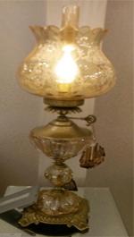 چراغ حباب گوی کریستال