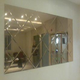 آینه پازل طرح لوز کلاسیک