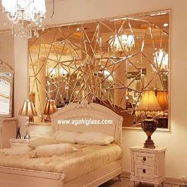 آینه پازل طرح ستاره