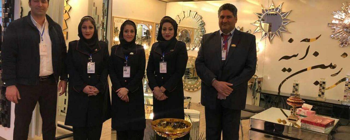 نمایشگاه بین المللی تهران میدکس الماس ترنم پاسارگاد